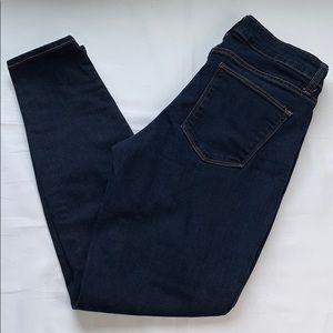 GAP Women's Curvy True Skinny Dark Wash Blue Jeans